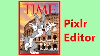 Create Your Own Time Magazine Cover With PIXLR
