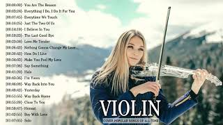 Top 50 Covers of Popular Songs 2019 - Best Instrumental Violin Covers All Time
