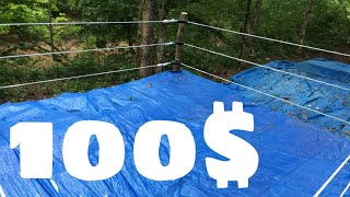 HOW TO BUILD A WRESTLING RING, FOR LESS THAN 100$