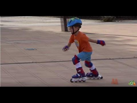 patines en línea. Niño 5 añitos