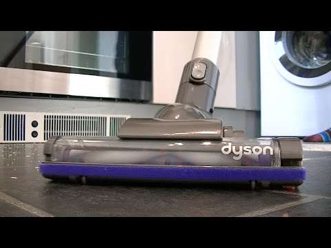 Dyson DC35 Digital Slim Vacuum Cleaner Demonstration & Review