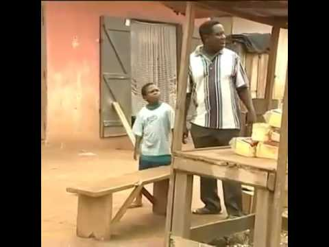 Mr ibu and son pawpaw don't kill your self with laughing 😂😂😂😀😀😃😄 nollywood comedy