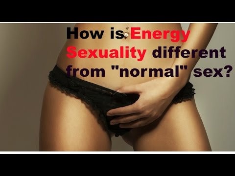 how is energy sexuality different than