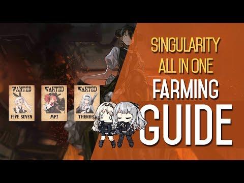 Girls' Frontline | Singularity All-In-One Farming Guide