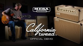 Mesa Boogie California Tweed 6V6 4:40 Head Video