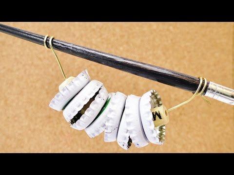 Kronkroken Tamburin | Musikinstrument basteln | Rassel selbst herstellen