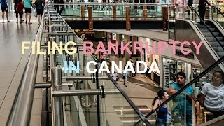 FILING FOR CORPORATE BANKRUPTCY IN TORONTO CANADA