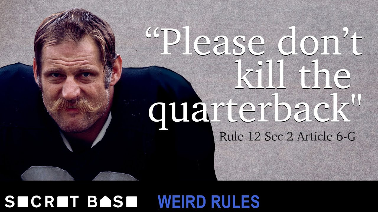 The quarterback hit that forced the NFL to consider safety | Weird Rules thumbnail