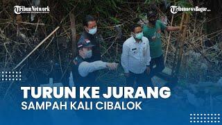 Turun ke Jurang Sampah Kali Cibalok, Wakil Wali Kota Bogor: Sedih Lihatnya