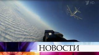 Российские военные летчики охраняют воздушные границы страны.