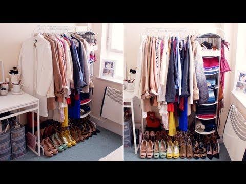 My Open Closet/Wardrobe! | INTERIOR