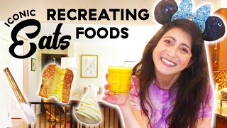Recreating Disneys Most Famous Recipes: Dole Whip, Churros & Grilled Cheese!