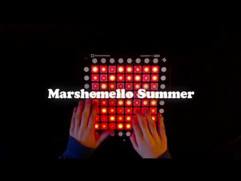 Marshmello Summer Launchpad Pro Cover