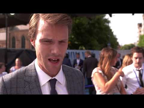 Mamma Mia 2 Hugh Skinner interview at London Premiere