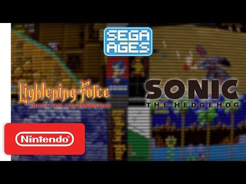 SEGA AGES Sonic The Hedgehog & Lightening Force: Quest - Launch Trailer - Nintendo Switch thumbnail