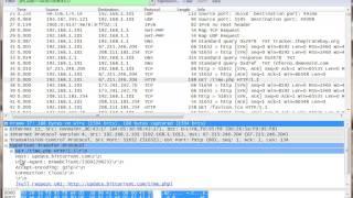 Figuring out Bittorrent behavior with Wireshark.