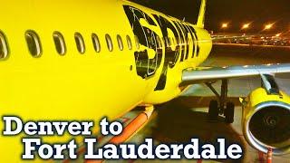 Full Flight: Spirit Airlines A321 Denver to Fort Lauderdale (DEN-FLL)
