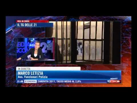 Intervento del Segretario Enzo Letizia a TG MEDIASET