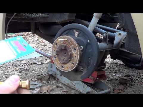 Installing ARP Wheel Studs On A Mazda B2200