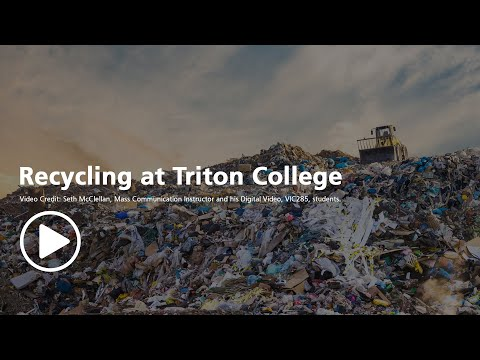 Recycling at Triton College