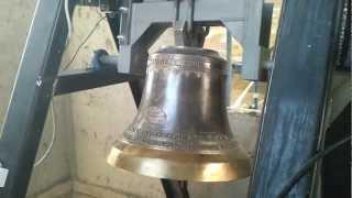preview picture of video 'San Francisco Javier de Taltal, campana de bronce Rivera'