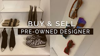 Where to sell second hand designer clothes