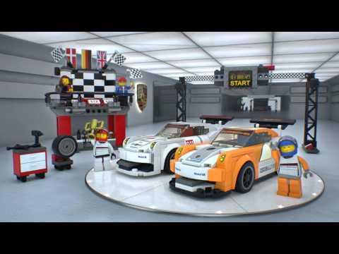 Vidéo LEGO Speed Champions 75912 : Porsche 911 GT Finish Line