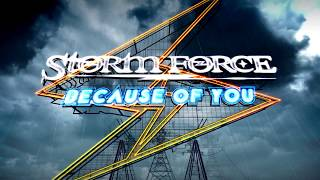 STORM FORCE - Because of you