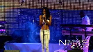 """RAE SYMPHONEEE PERFORMS AALIYAH'S """"AT YOUR BEST"""" AT TALLAHASSEE NIGHTS LIVE"""