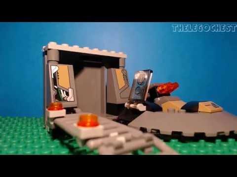 Vidéo LEGO DC Comics Super Heroes 76009 : Superman : l'évasion de Black Zero