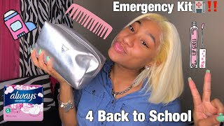 Everything You NEED In Your School Emergency Kit 2020