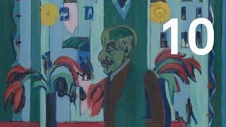 Ernst Ludwig Kirchner, Max Liebermann in seinem Atelier