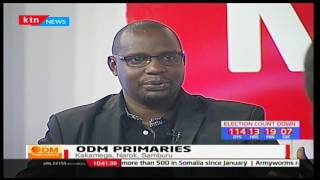 ODM Party Primaries: With Brian Mutie, Evans Oluoch and Ochwacho Francis 15/4/2017