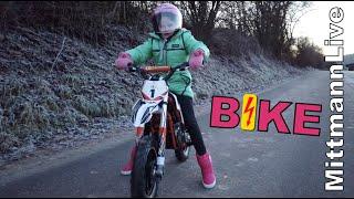 Kinder Mini Crossbike Gazelle 500 Watt Elektro Motorrad meiner Tochter