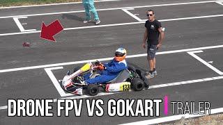 Trailer DRONE da FPV sfida GoKart
