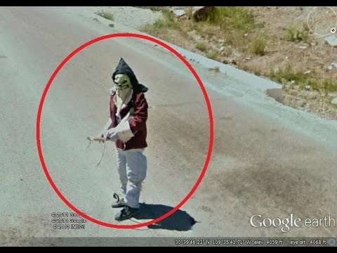 Video 20 Creepiest Google Earth Images
