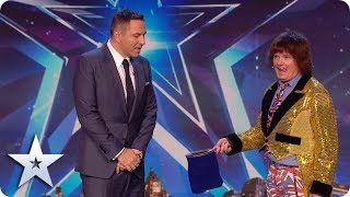 LEGENDARY BGT act David J Watson returns with a MAGICAL rainbow! | BGT: UNSEEN