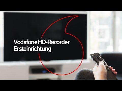 HD-Recorder - Ersteinrichtung