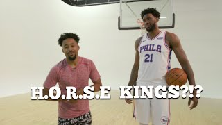 "FUNNIEST Game Of ""H.O.R.S.E"" Vs JOEL EMBIID! 