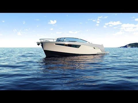 Alfastreet Marine 28 Cabin Motor video