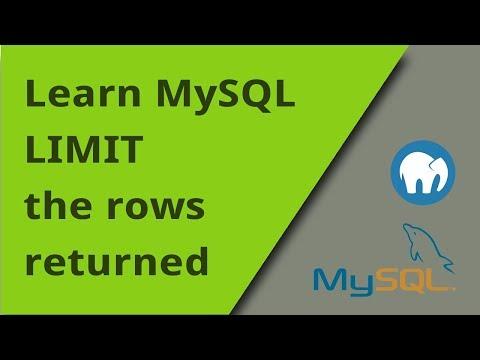 Learning Mysql Limit Keyword