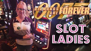 💎007 Diamonds Are Forever! 💎3 Reel WIN$ with Laycee Steele | Slot Ladies