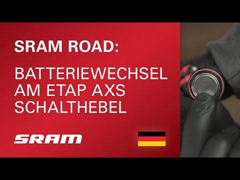 Batteriewechsel am eTAP AXS Schalthebel