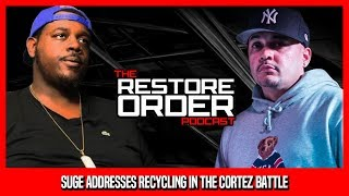 SHOTGUN SUGE ADDRESSES RECYLCING IN THE CORTEZ BATTLE AND JERRY WESS