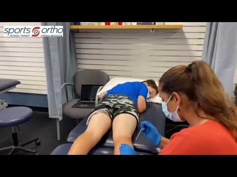 Dry Needling A Young Athlete