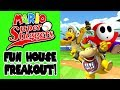 Mario Super Sluggers Best Fun House Team Ever Freakout