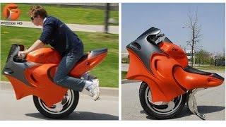 LAS 4 MOTOCICLETAS MÁS INUSUALES e Impresionantes