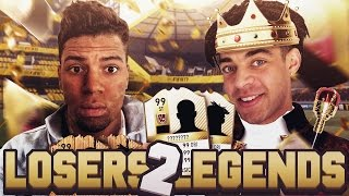 WE MADE IT TO DIVISION 1! - FIFA 17 - LOSERS 2 LEGENDS! #43
