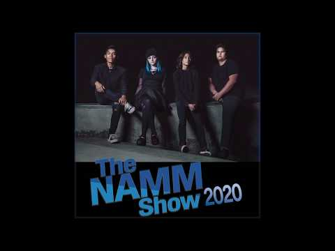 'Hysteria' by Muse - Minor Strut cover at The NAMM Show 2020