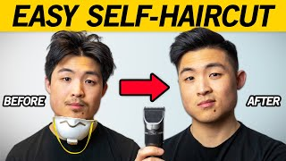 How To Cut Your Own Hair STEP BY STEP - Simple Faded Undercut Self-Haircut Tutorial